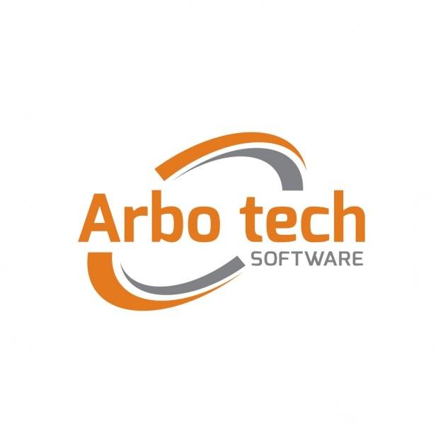 Logo Arbo tecnologia Vetor grátis