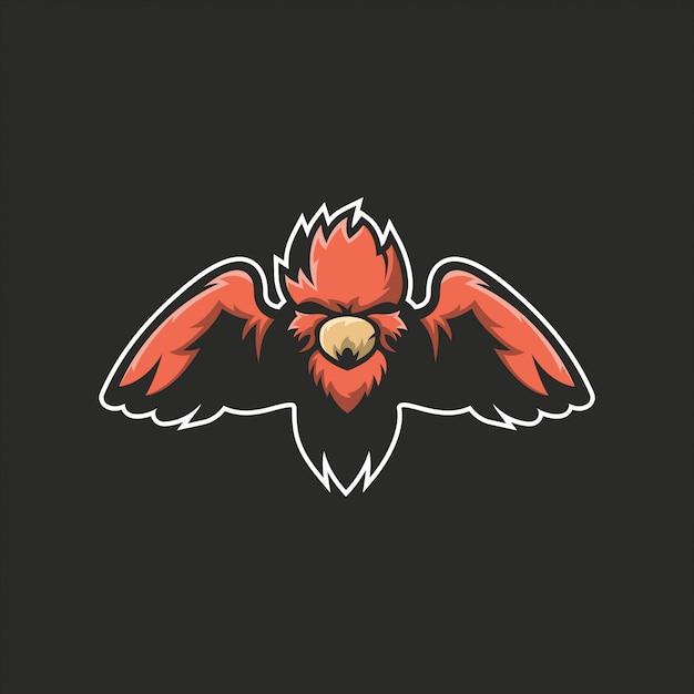 Logo eagle pronto para uso Vetor Premium