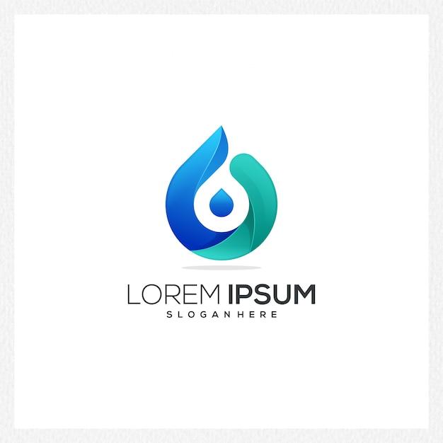 Logotipo abstrato moderno ou modelo de logotipo para identidade de marca Vetor Premium