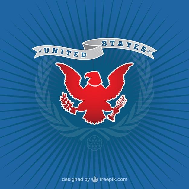 logotipo americano com 225guia baixar vetores gr225tis