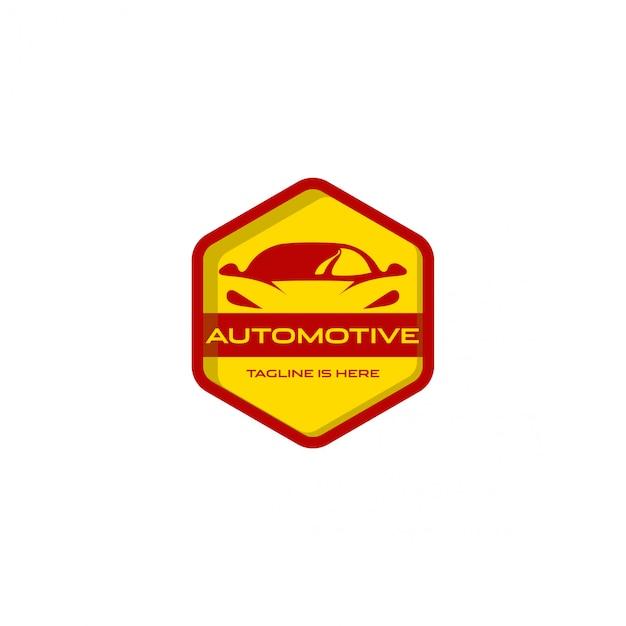 Logotipo automotivo do carro Vetor Premium
