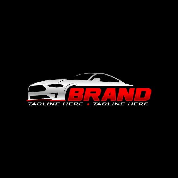 Logotipo automotivo Vetor Premium