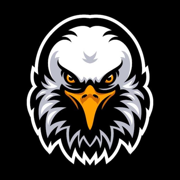 Logotipo da águia para um time de esporte Vetor Premium