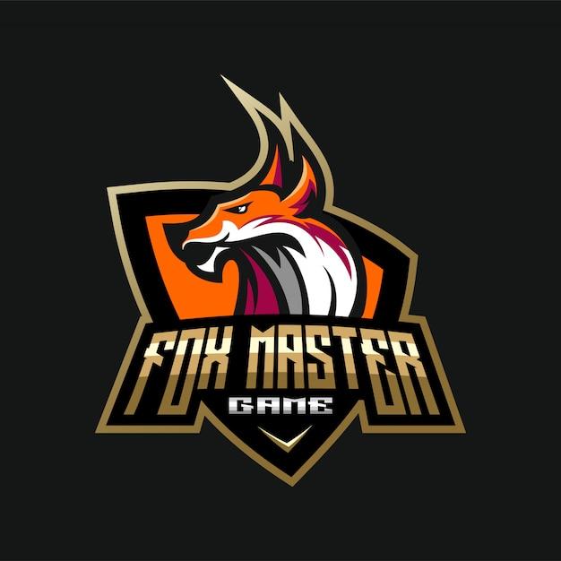 Logotipo da cabeça do leão Vetor Premium
