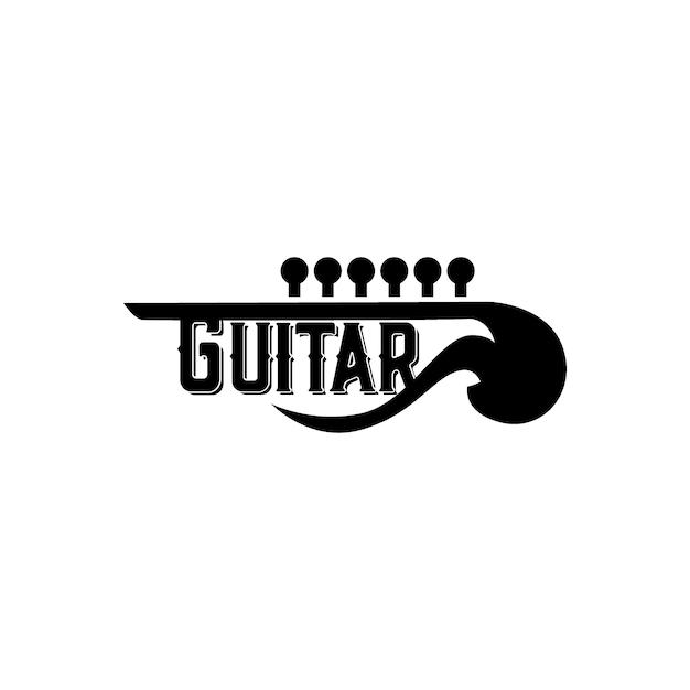logotipo da guitarra
