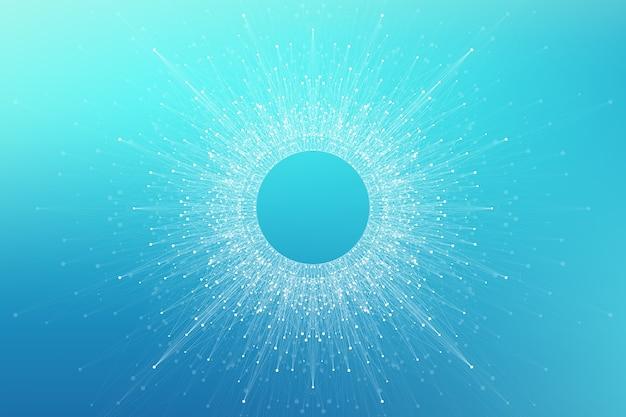 Logotipo de inteligência artificial. inteligência artificial e conceito de aprendizado de máquina. Vetor Premium