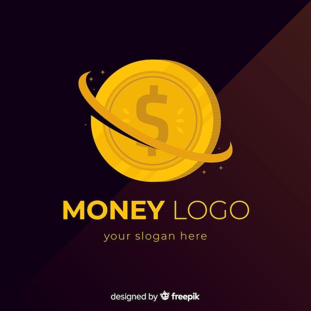 Logotipo do dinheiro Vetor grátis