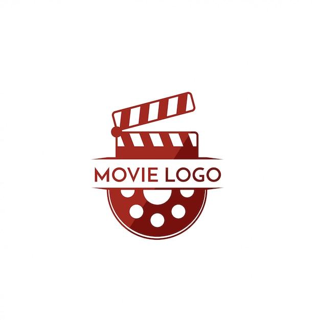 Logotipo do filme Vetor Premium