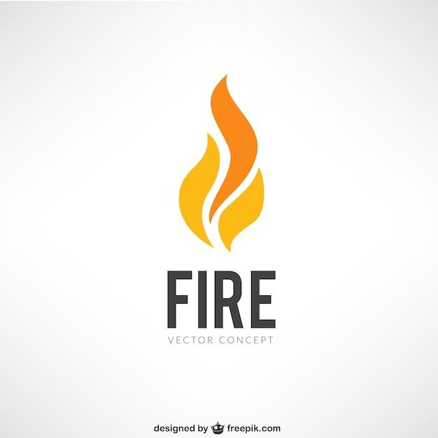 logotipo do fogo baixar vetores gr225tis