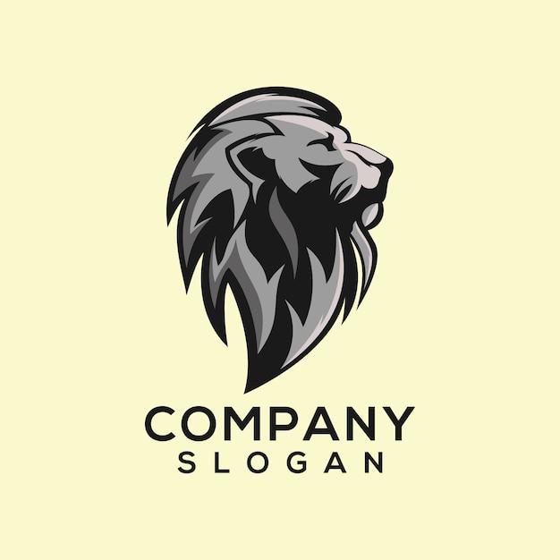 Logotipo do leão Vetor Premium