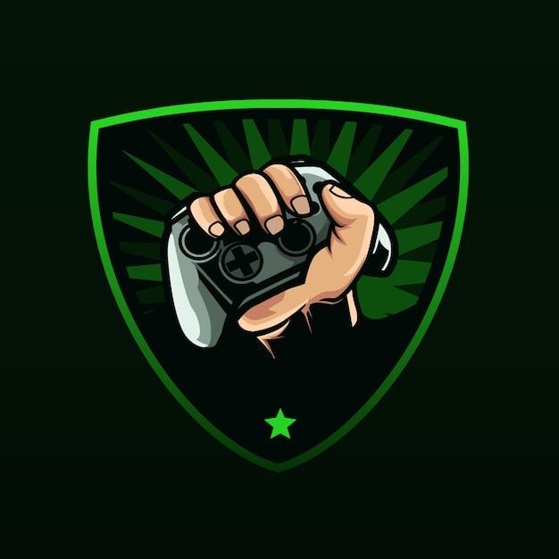 Logotipo do xbox de jogos Vetor Premium