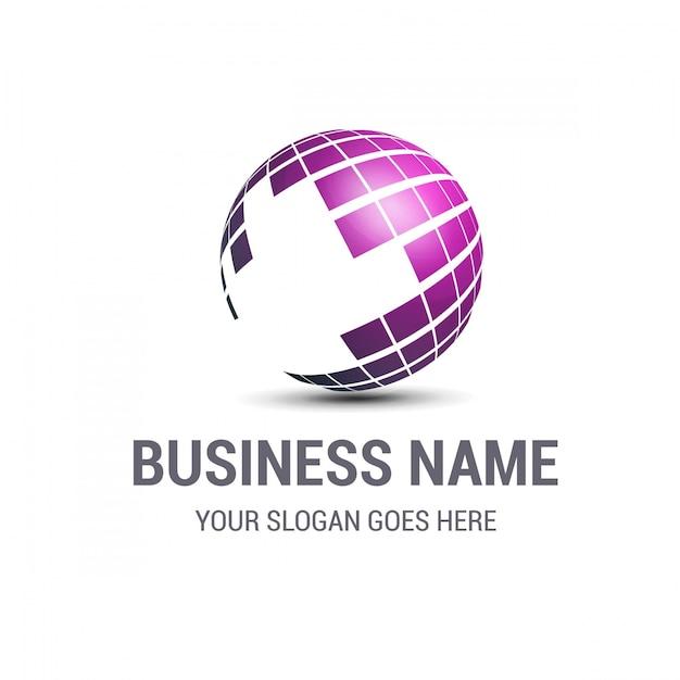 Logotipo modelo de negócio Vetor grátis
