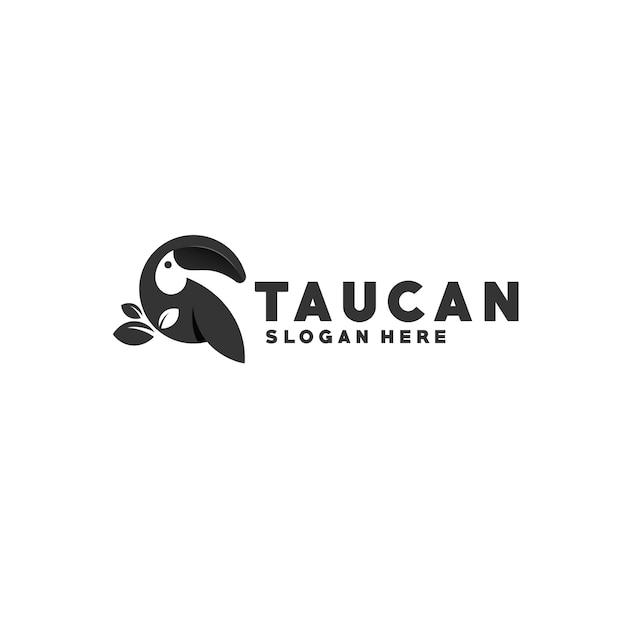 Logotipo tucano Vetor Premium