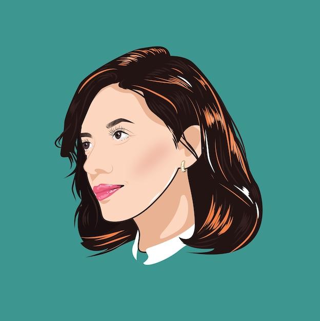 ecb439b660 Loja de beleza de ícone de estilista de cabelo de moda feminina ...