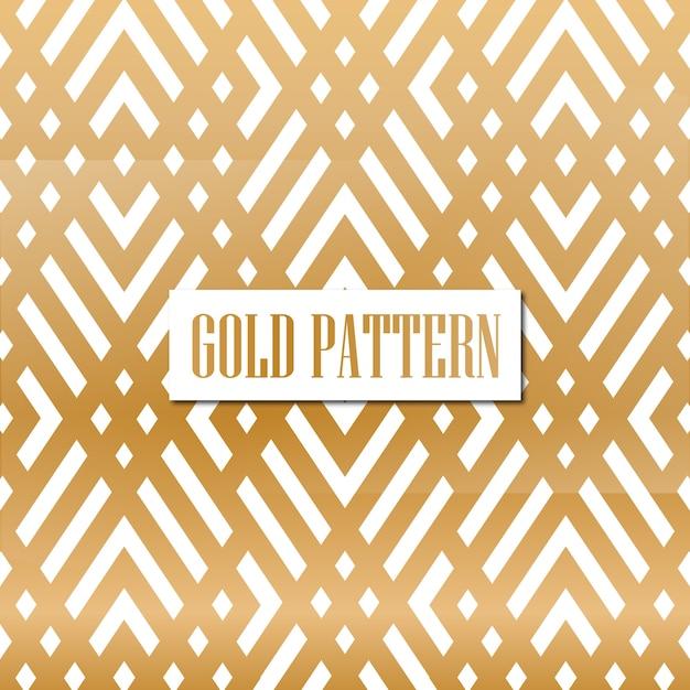 Luxo ouro padrão Vetor Premium