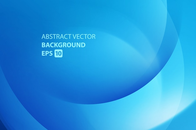 Luz colorida torção suave linhas azuis vector fundo. Vetor Premium