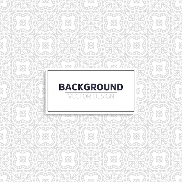 Mandala. padrão de ornamento redondo. elementos decorativos vintage Vetor Premium