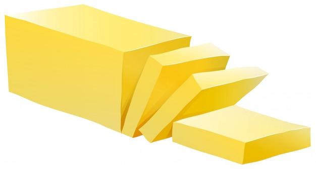 Manteiga Vetor grátis