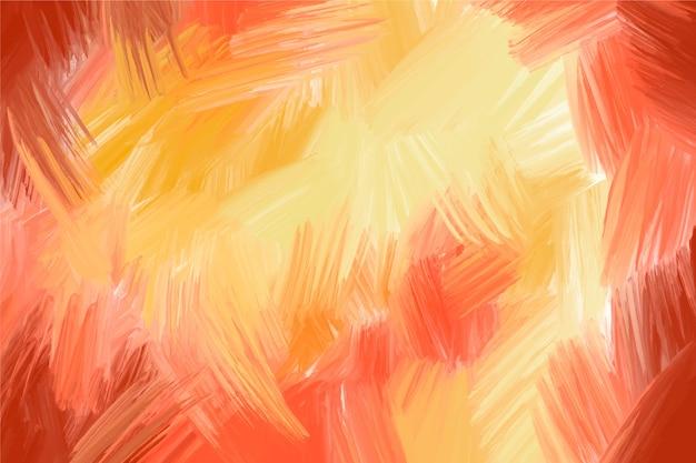 Mão abstrata pintada fundo Vetor grátis