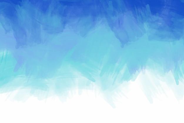 Mão criativa abstrata fundo pintado Vetor Premium