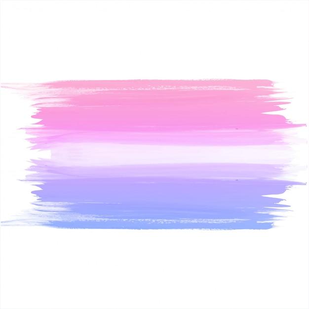 Mão de colorido aquarela desenhar fundo do traçado Vetor grátis