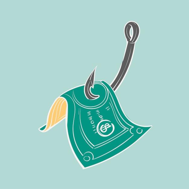 Mão, desenho, ilustração, de, finanças, concet Vetor grátis