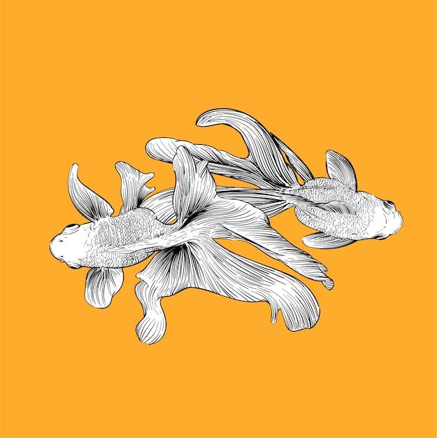 Mão, desenho, ilustração, de, individualidade, conceito Vetor grátis