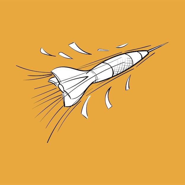 Mão, desenho, ilustração, de, objetivo, objetivo, conceito Vetor grátis