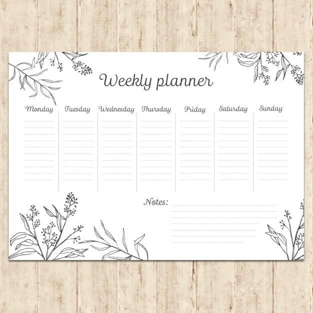 M o planejamento semanal pintada baixar vetores gr tis for Planos mobiliario escolar peru