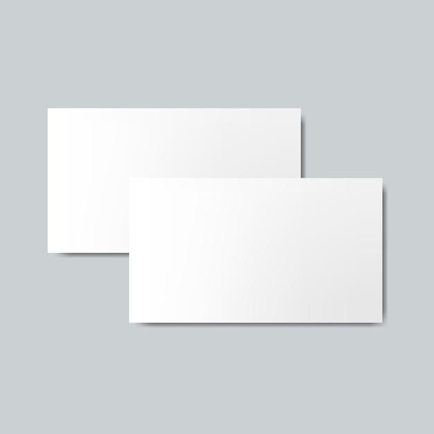 Maquete de design de cartão de visita Vetor grátis