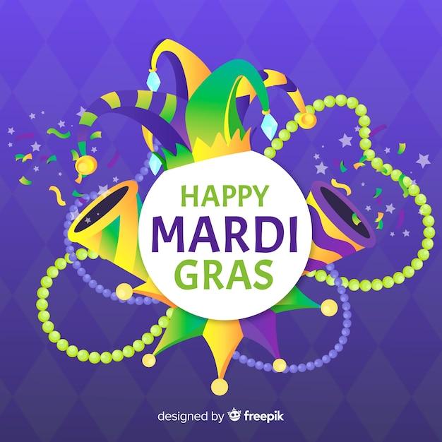 Mardi gras carnaval Vetor grátis