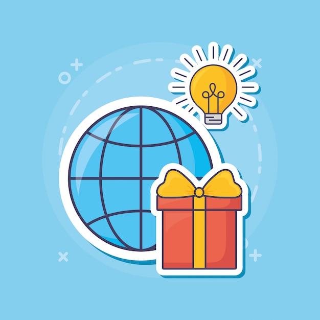 Marketing de email Vetor Premium
