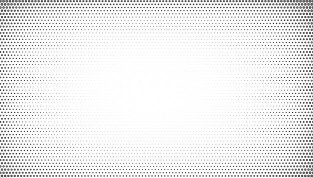 Meio-tom abstrato com estilo de efeito de vinheta Vetor grátis