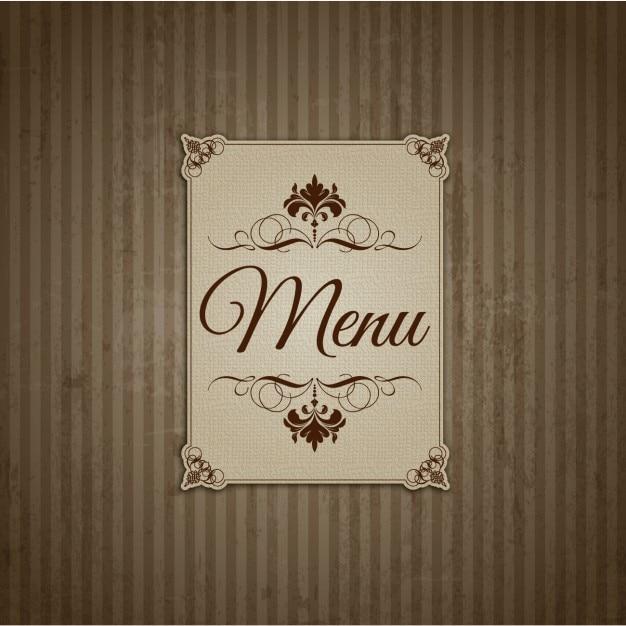 Vintage Restaurant Menu 58