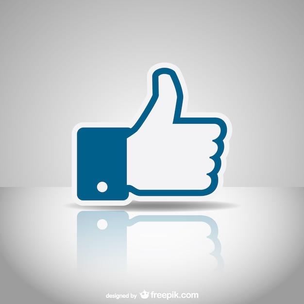 Mídias sociais como ícone Vetor grátis