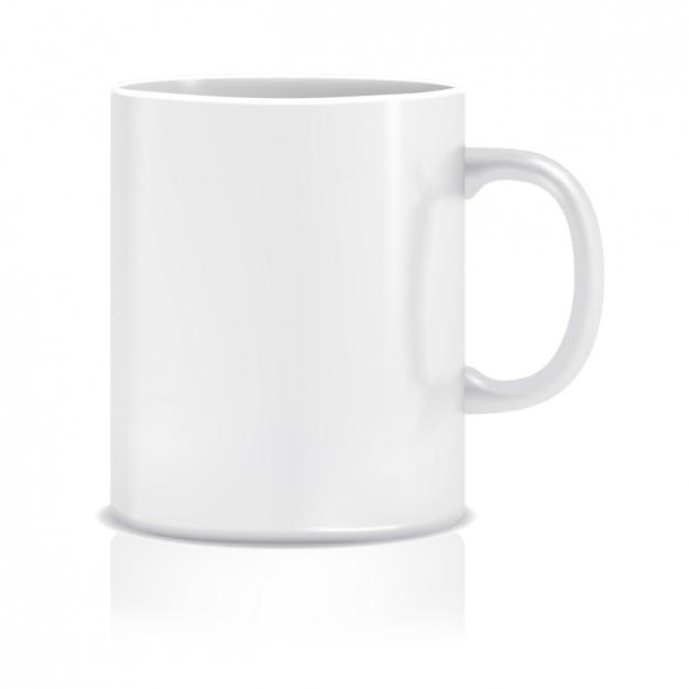 Mockup cup Vetor grátis