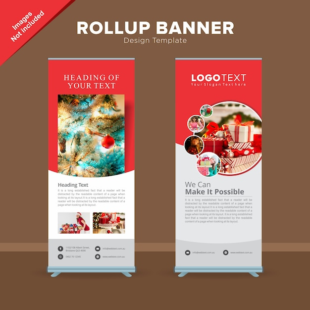 e6bdb3eb683380 Modelo de banner de rollup de loja de presentes criativos | Baixar ...