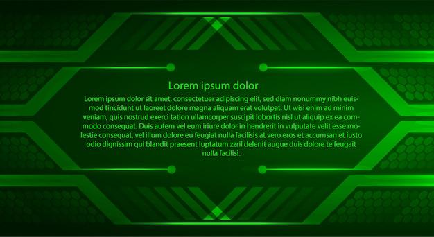 Modelo de banner de tecnologia de segurança cibernética de internet das coisas Vetor Premium