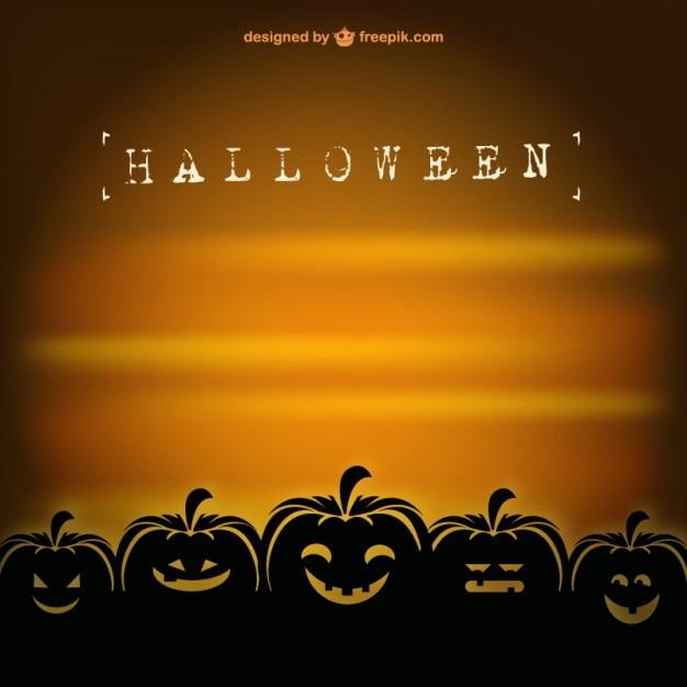 retro halloween vector