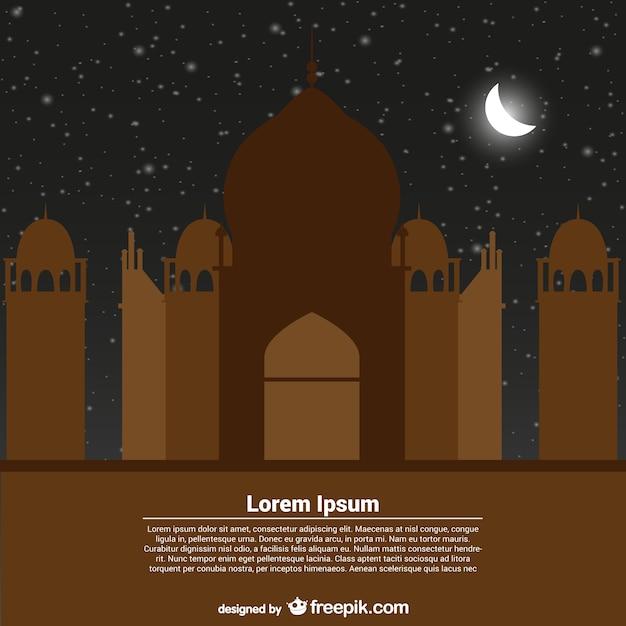 Modelo de cartão para ramadan kareem Vetor grátis