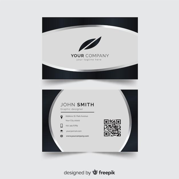 Modelo de cartão Vetor grátis
