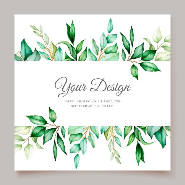 Modelo de convite de casamento floral minimalista elegante Vetor grátis