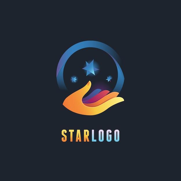 Modelo de design de logotipo abstrato de vetor Vetor Premium
