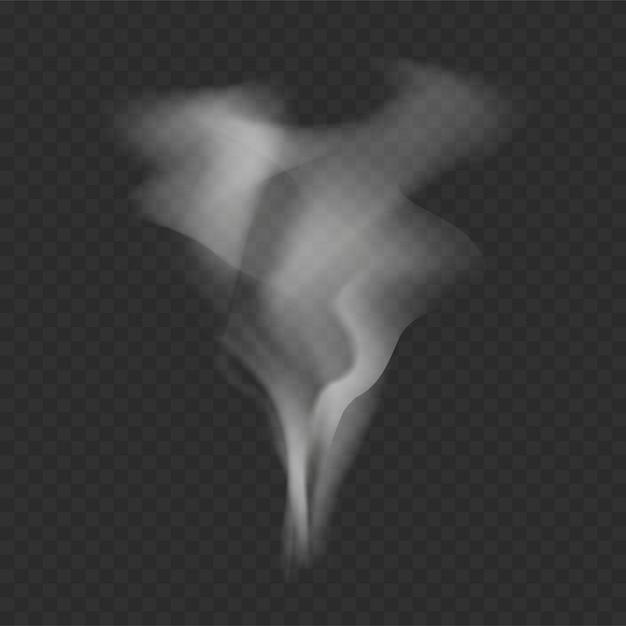 Modelo de fumaça Vetor grátis