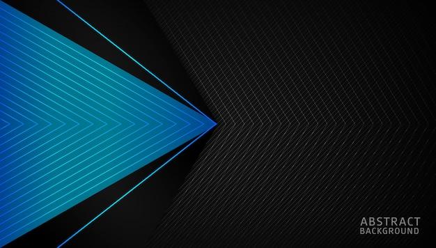 Modelo de fundo dinâmico gradiente abstrato Vetor Premium
