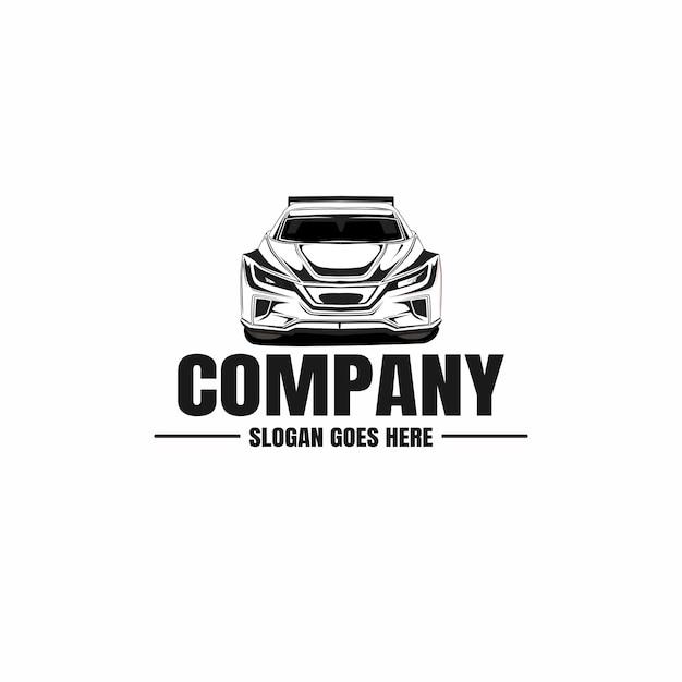 Modelo de logotipo de carro automotivo Vetor Premium