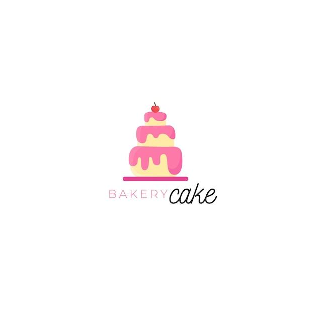Modelo de logotipo de identidade corporativa de bolo delicioso Vetor grátis