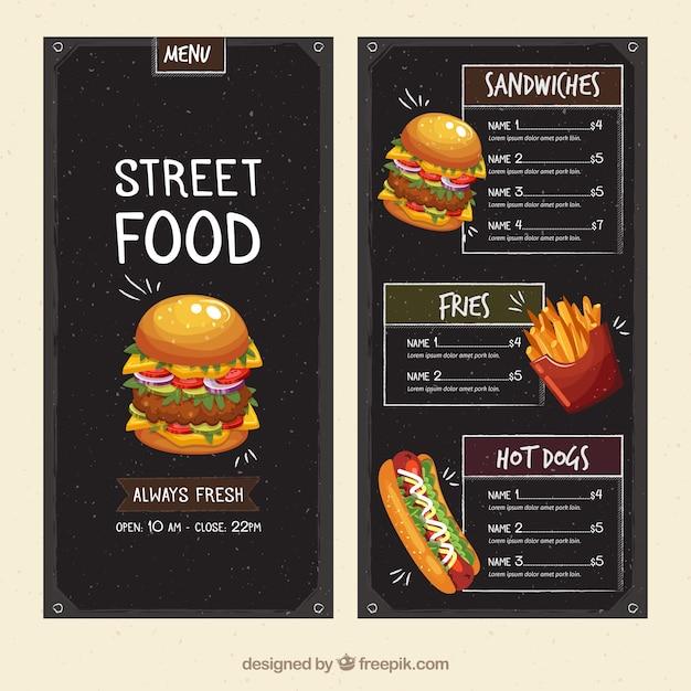 Front Street Cafe Menu