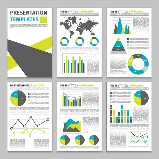 Modelo de negócio de infográfico Vetor grátis
