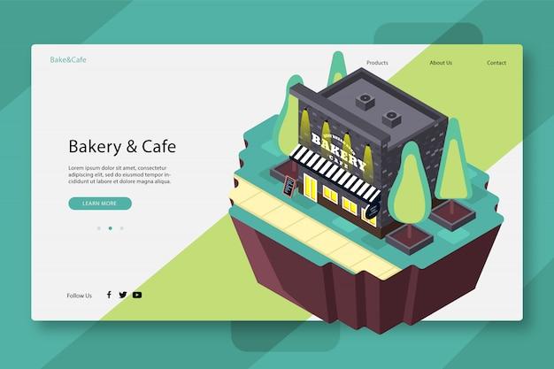 Modelo de página da web criativa Vetor Premium